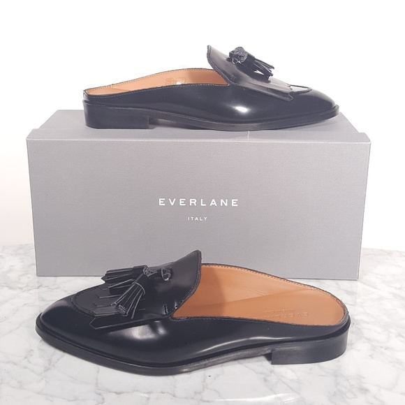 3f79255a5f6 Everlane Shoes - Everlane Modern Tassel Loafer Mule new with box